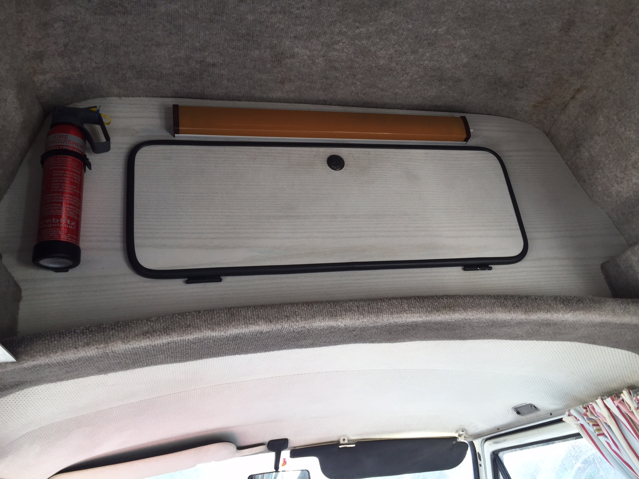 VW T25 Camper Van Storage