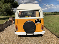4 berth vw campervan