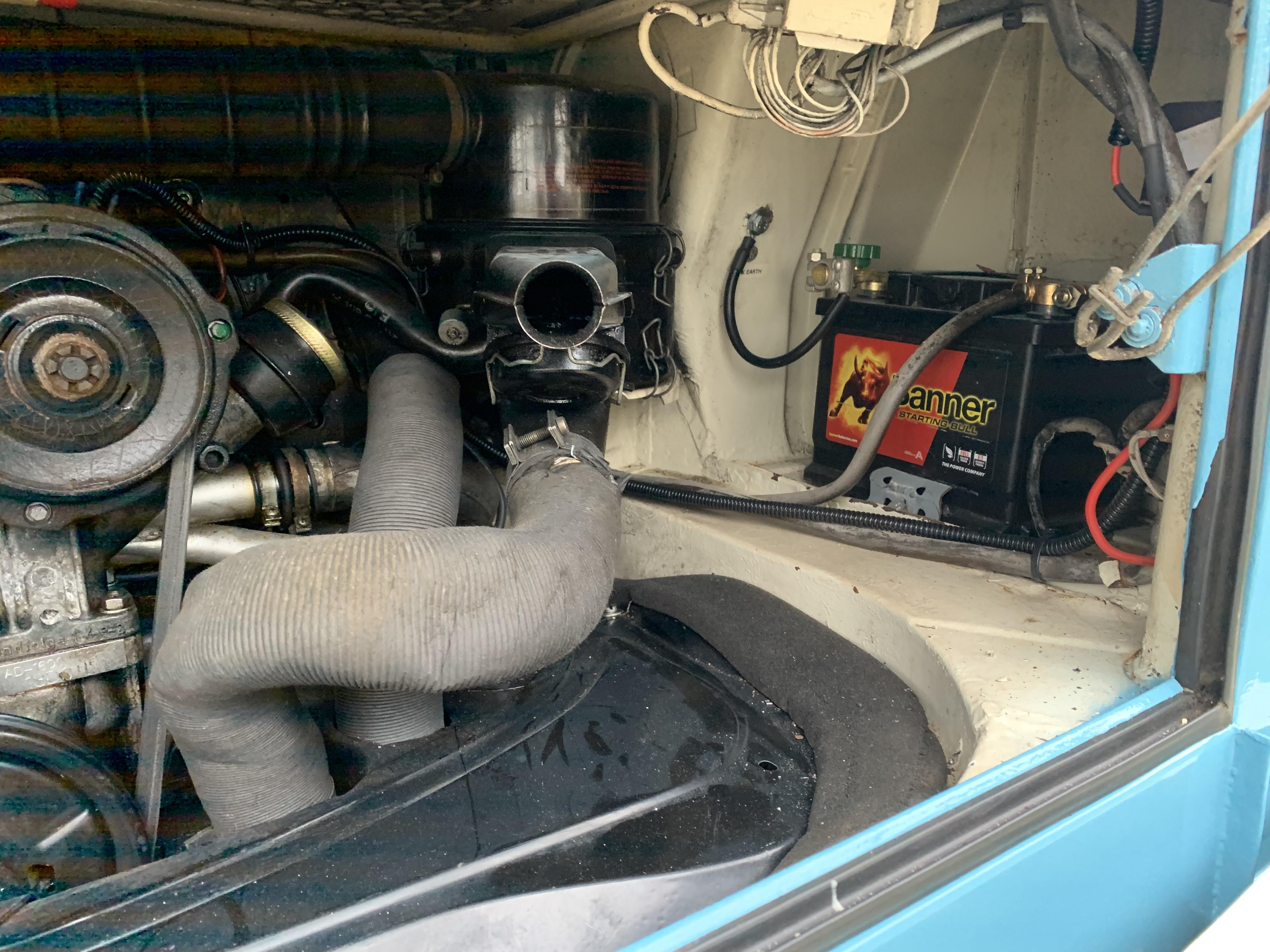 Essex VW camper van