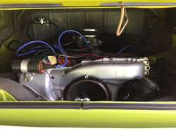 VW Westfalia Camper Van Engine