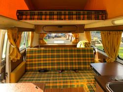 full width bed vw