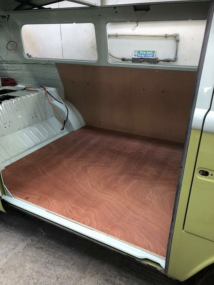 Camper Van Restoration