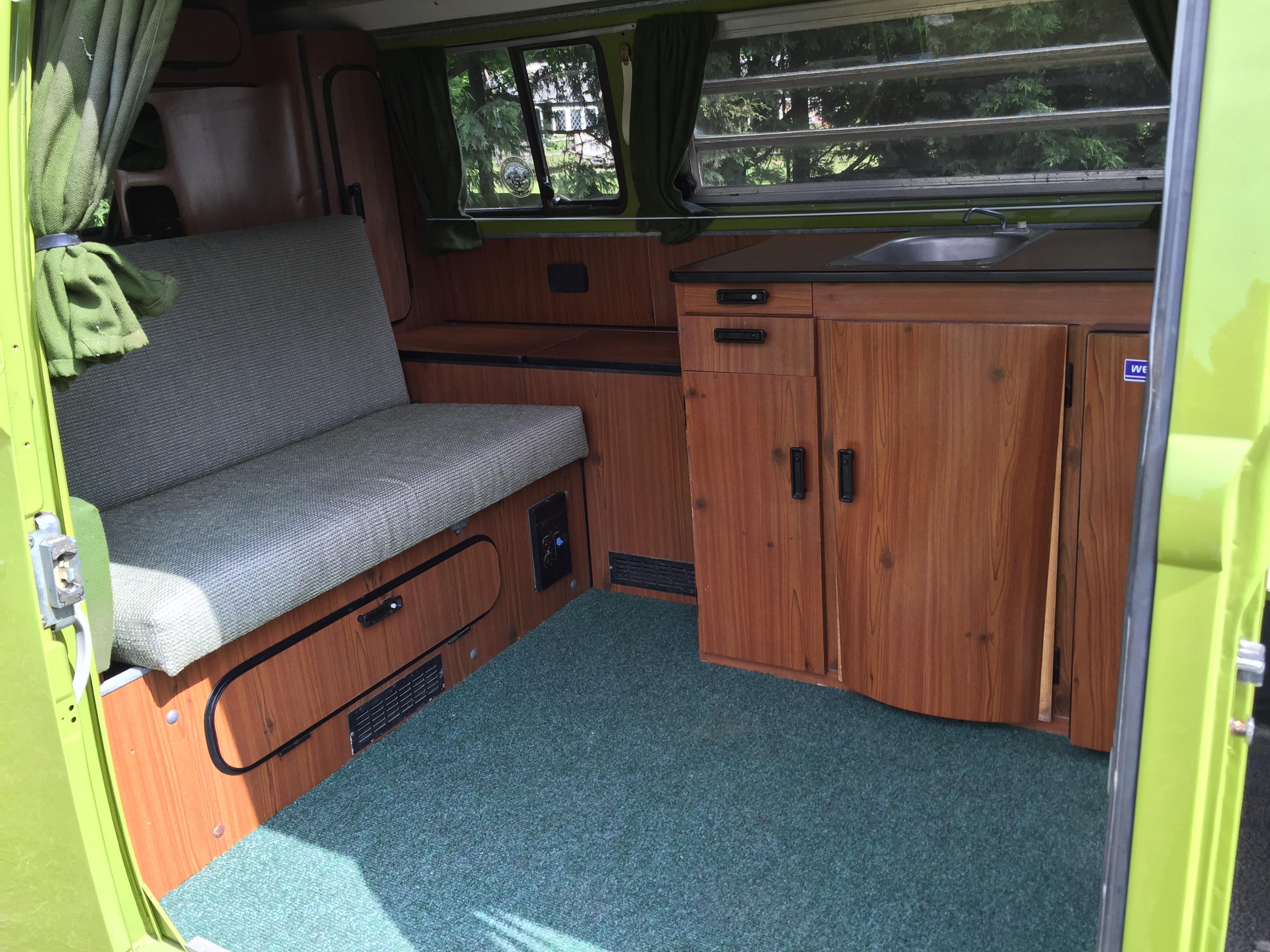 VW Westfalia Camper Van Seat