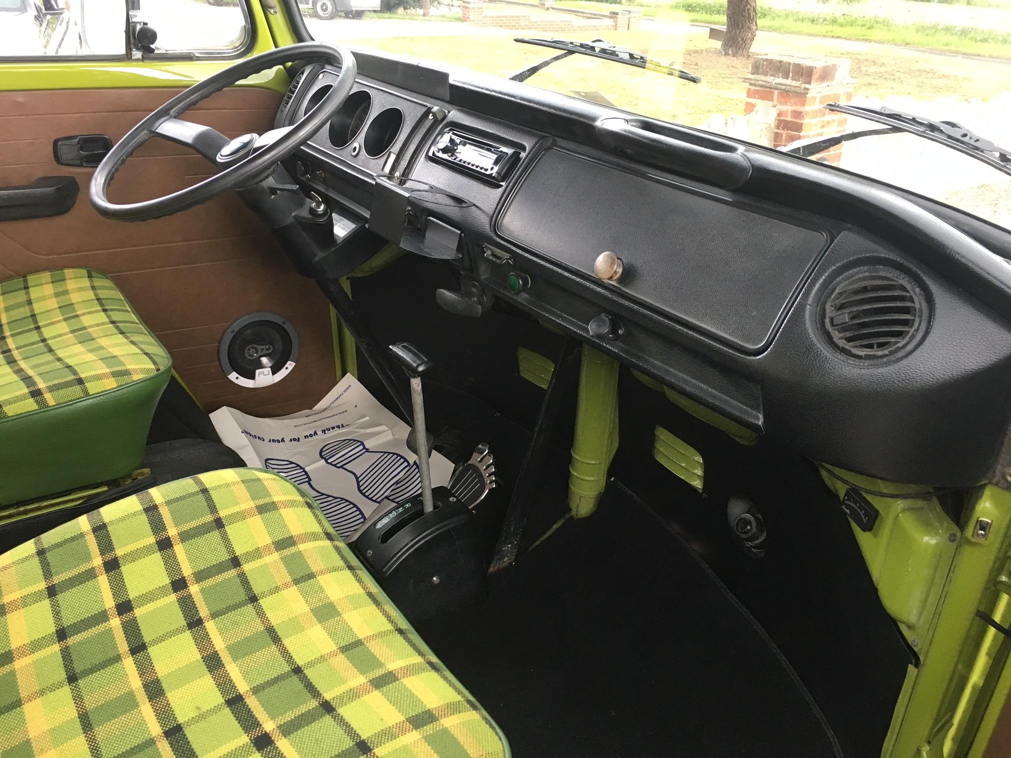 1978 Auto VW Westfalia Camper Van