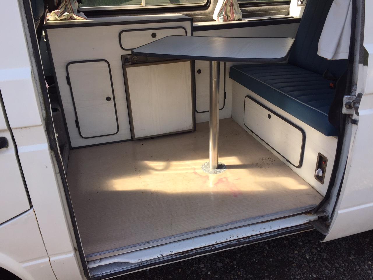 VW T25 Camper Van Interior