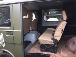 LT35 Truck Interior