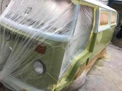 VW Camper Van Resto