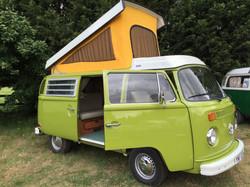 VW Westfalia Camper Van Pop Top