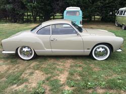 Restored 1968 VW Karmann Ghia