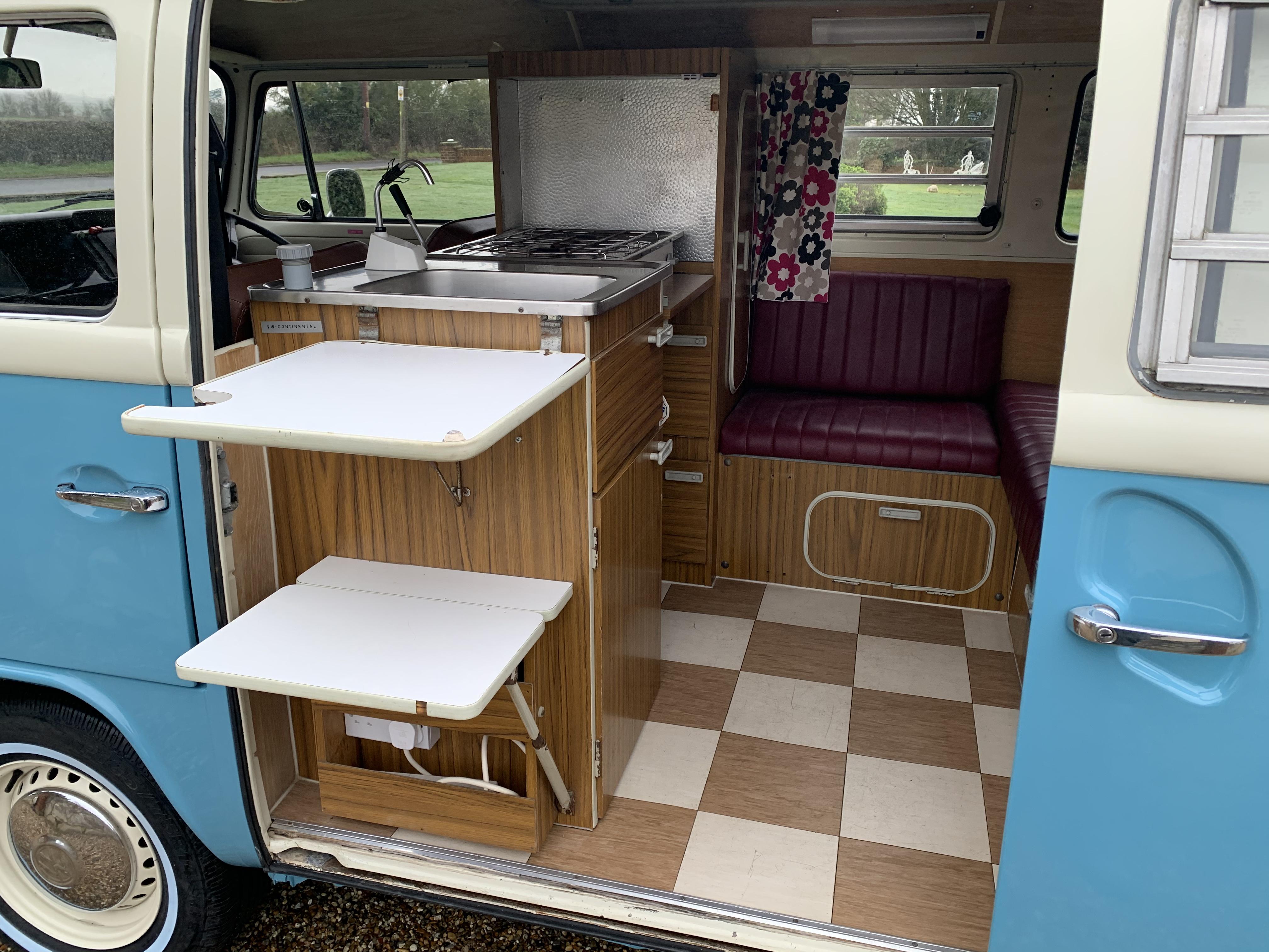 4 berth camper vans