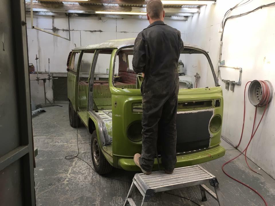 VW Essex Resto Camper Van