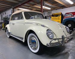 beetle wedding cars