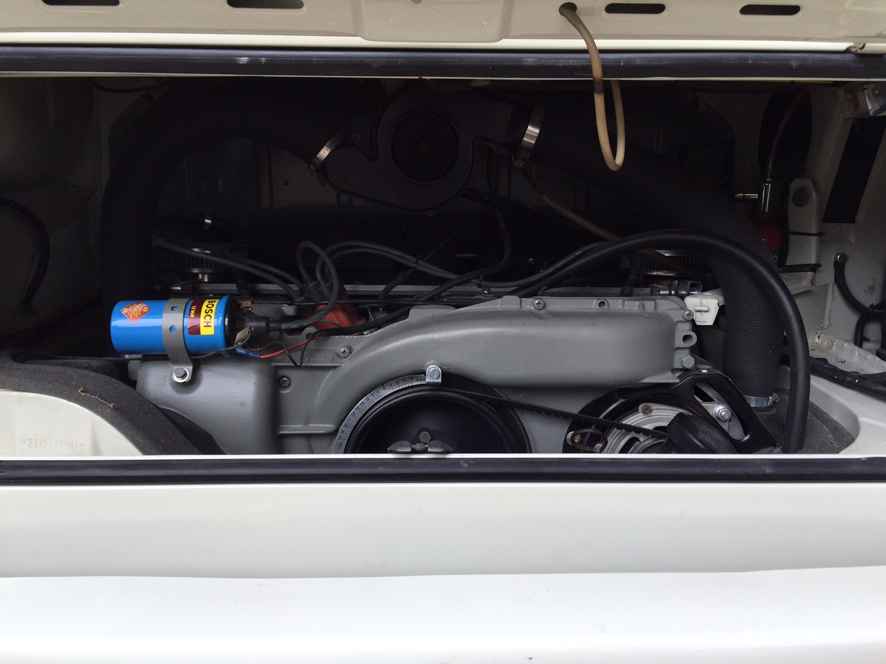 VW Westfalia Camper Van Engine