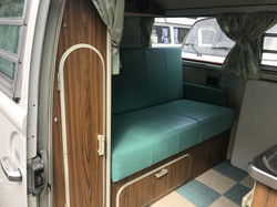 1973 Westfalia Camper Van Interior