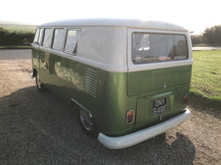 classic vw split screen campervan