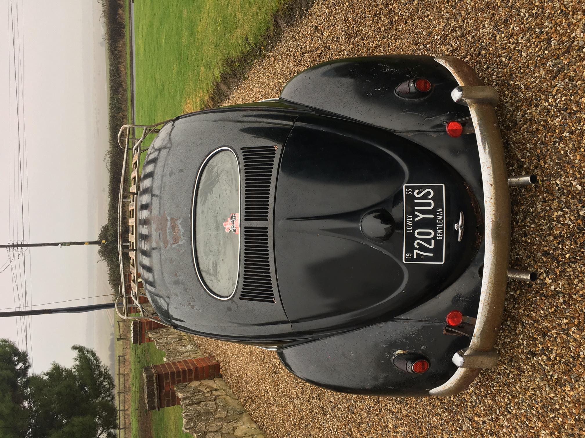 1955 Oval Deluxe Beetle