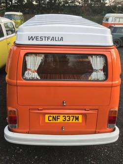 VW Westy Camper Van