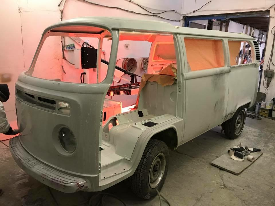 VW Camper Restoration Essex