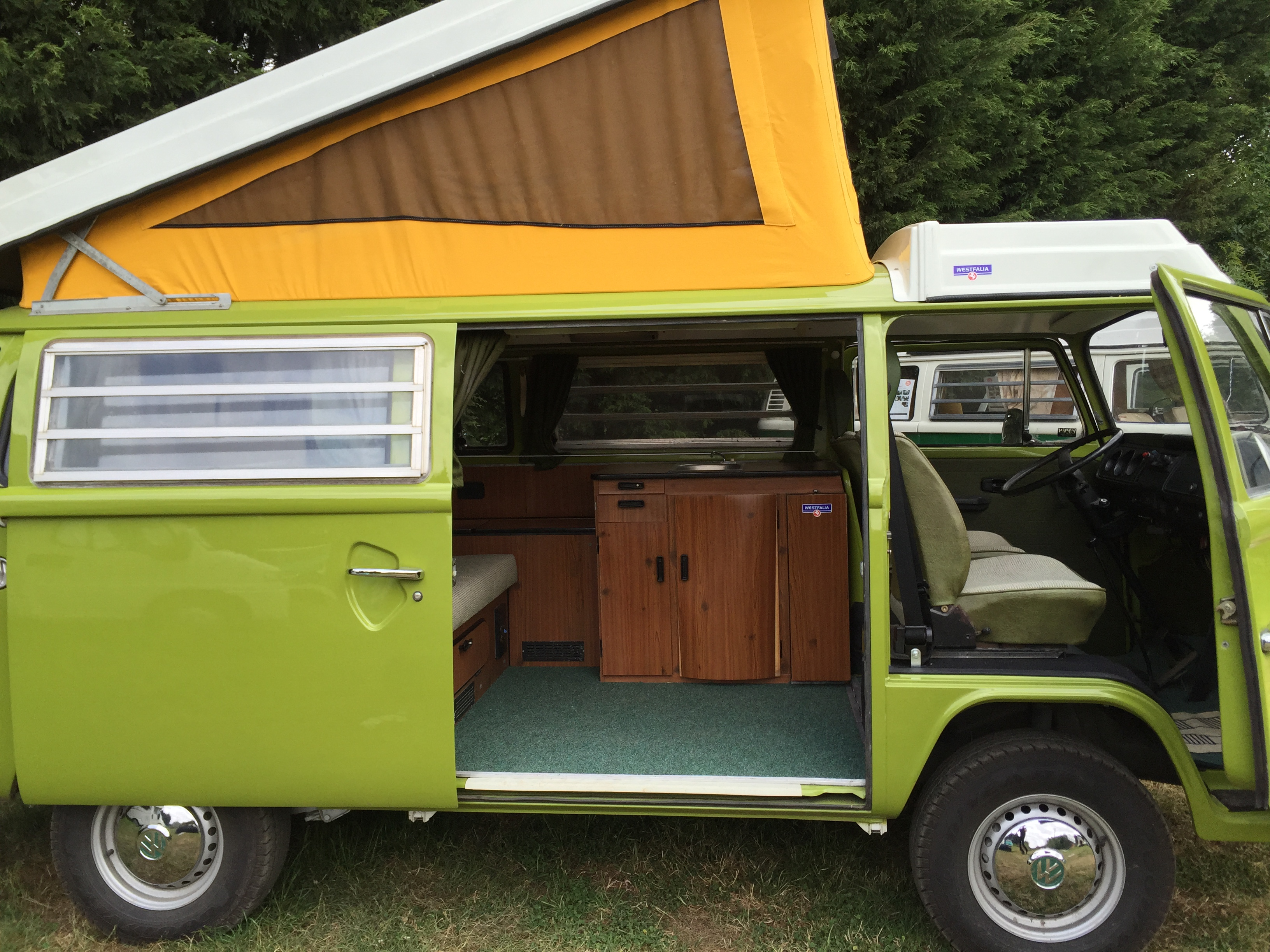 VW Westfalia Camper Van Pop Top
