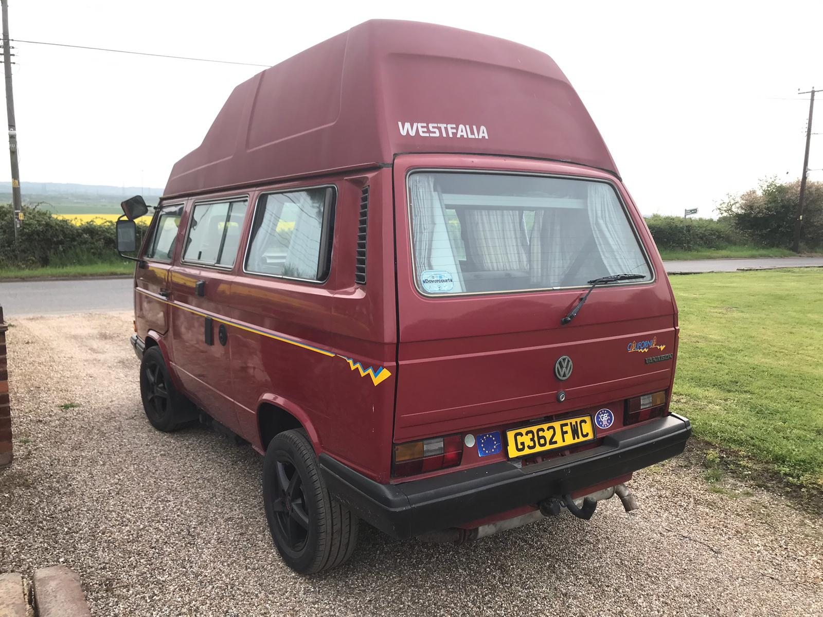 For Sale VW T25 Westfalia