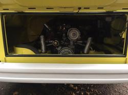 1973 Westfalia Camper Engine Bay