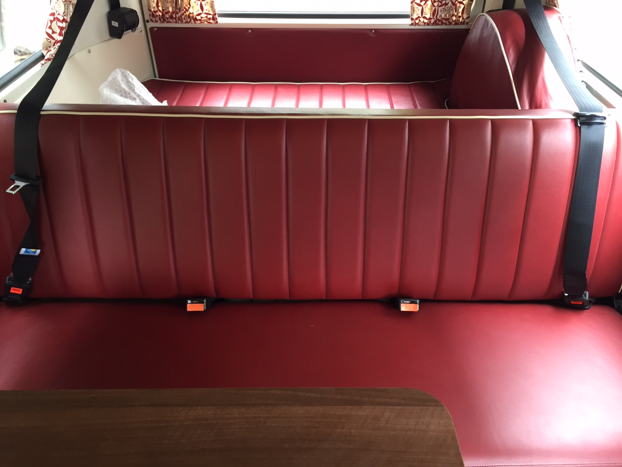 VW Westfalia Camper Van Seating