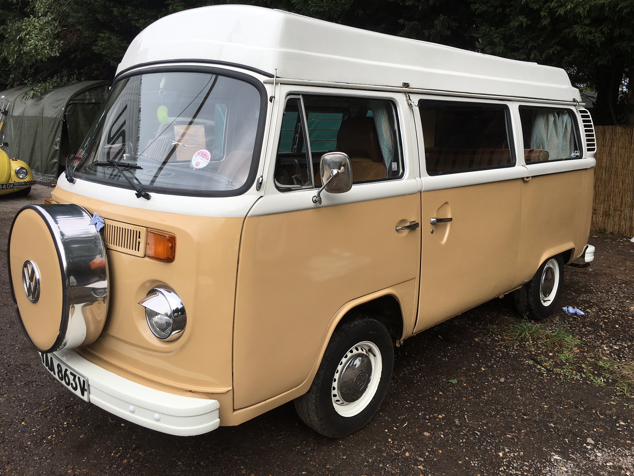 VW Devon Moonraker Camper Pop To