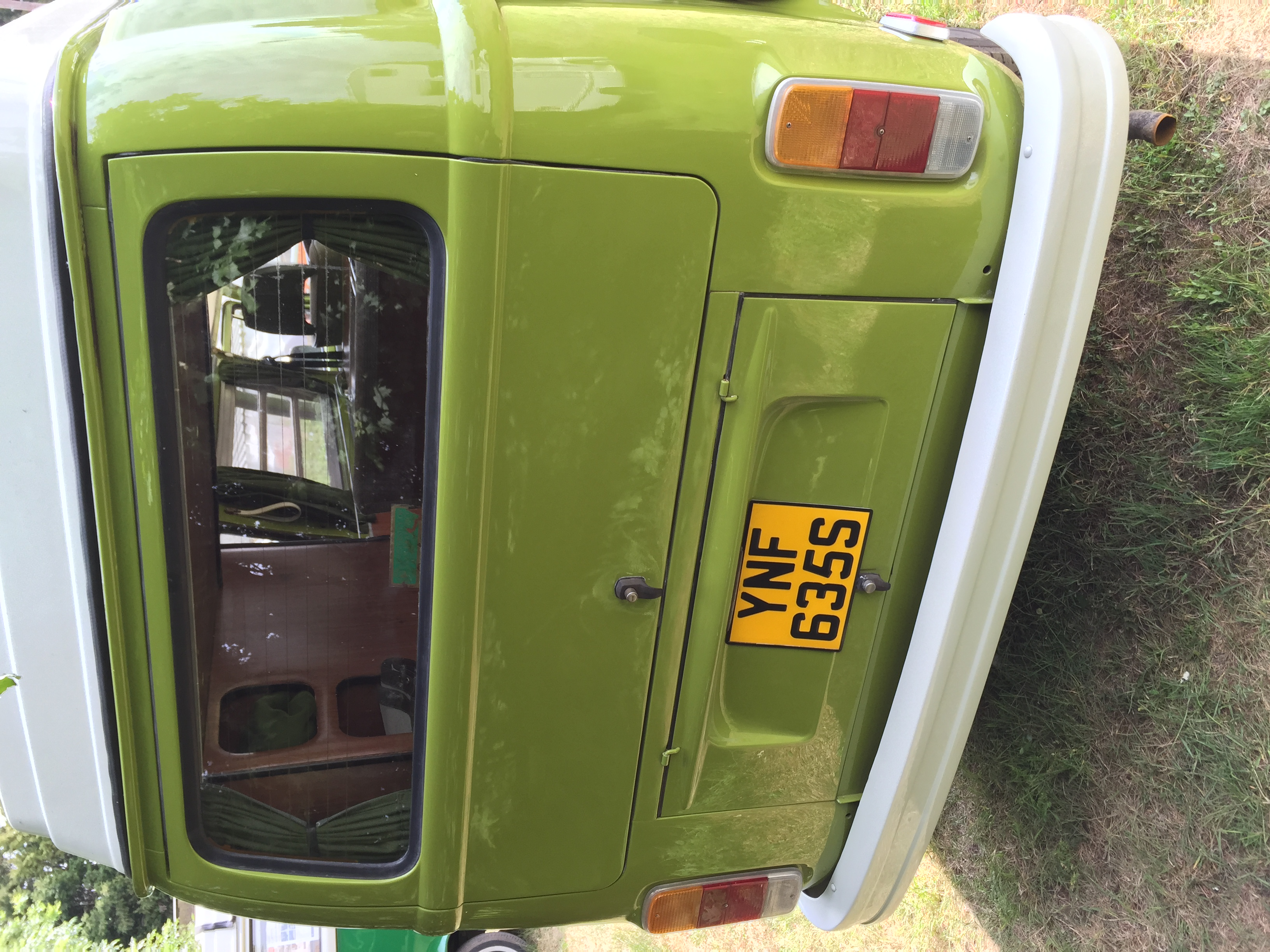 VW Westfalia Camper Van Rear