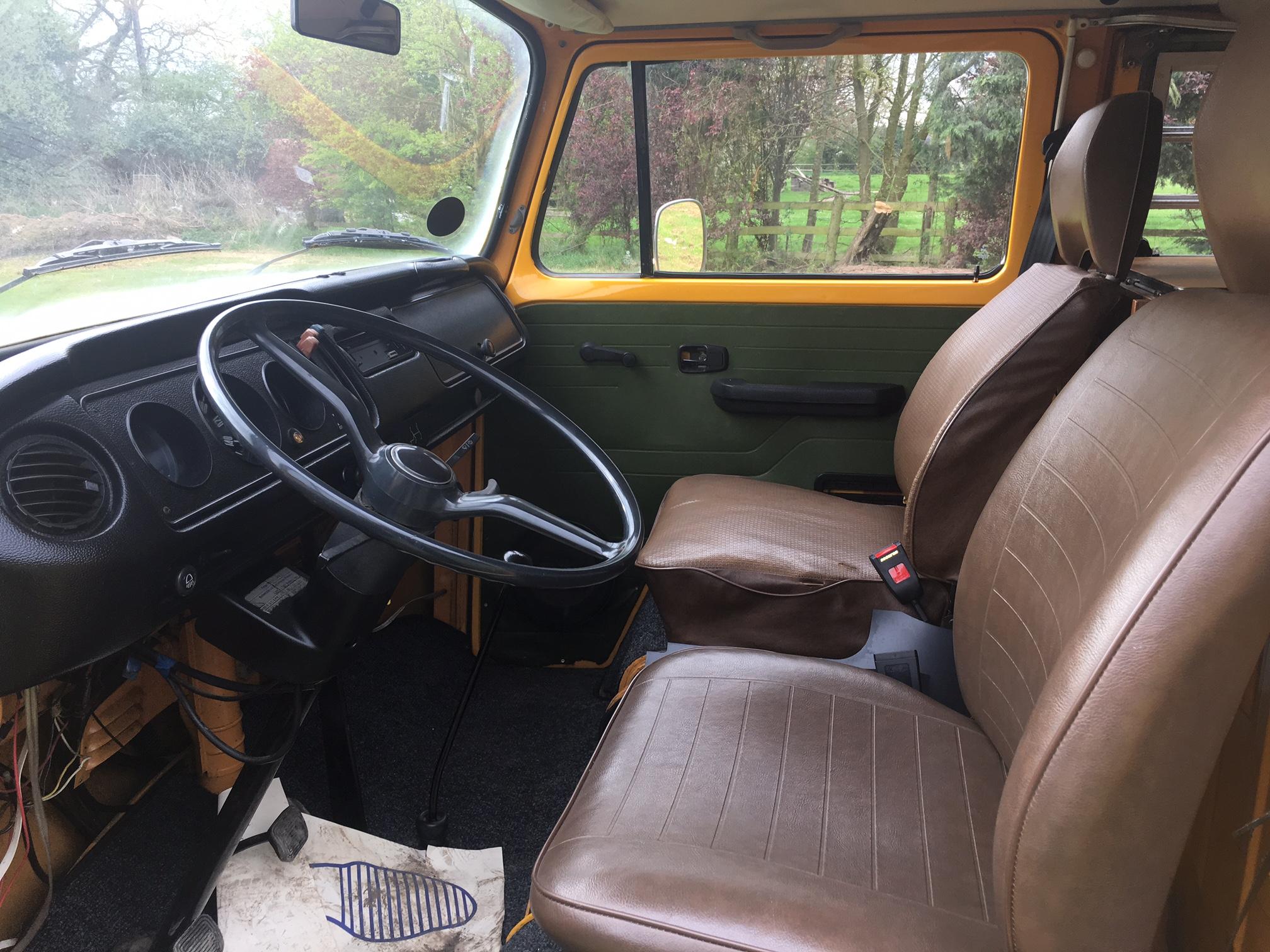 1978 westfalia 4 berth camper cab
