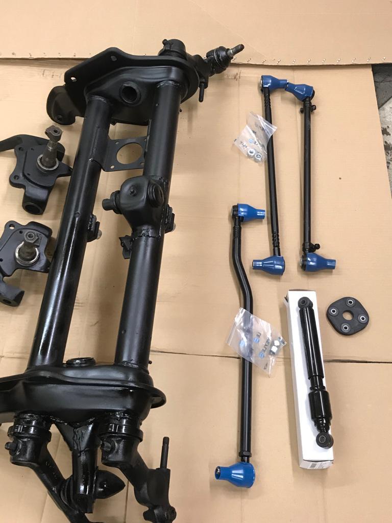 restored suspension vw