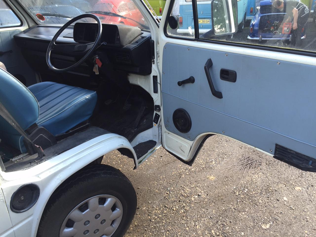 VW T25 Camper Van Cab