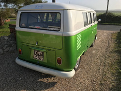 vw split screen camper van classic