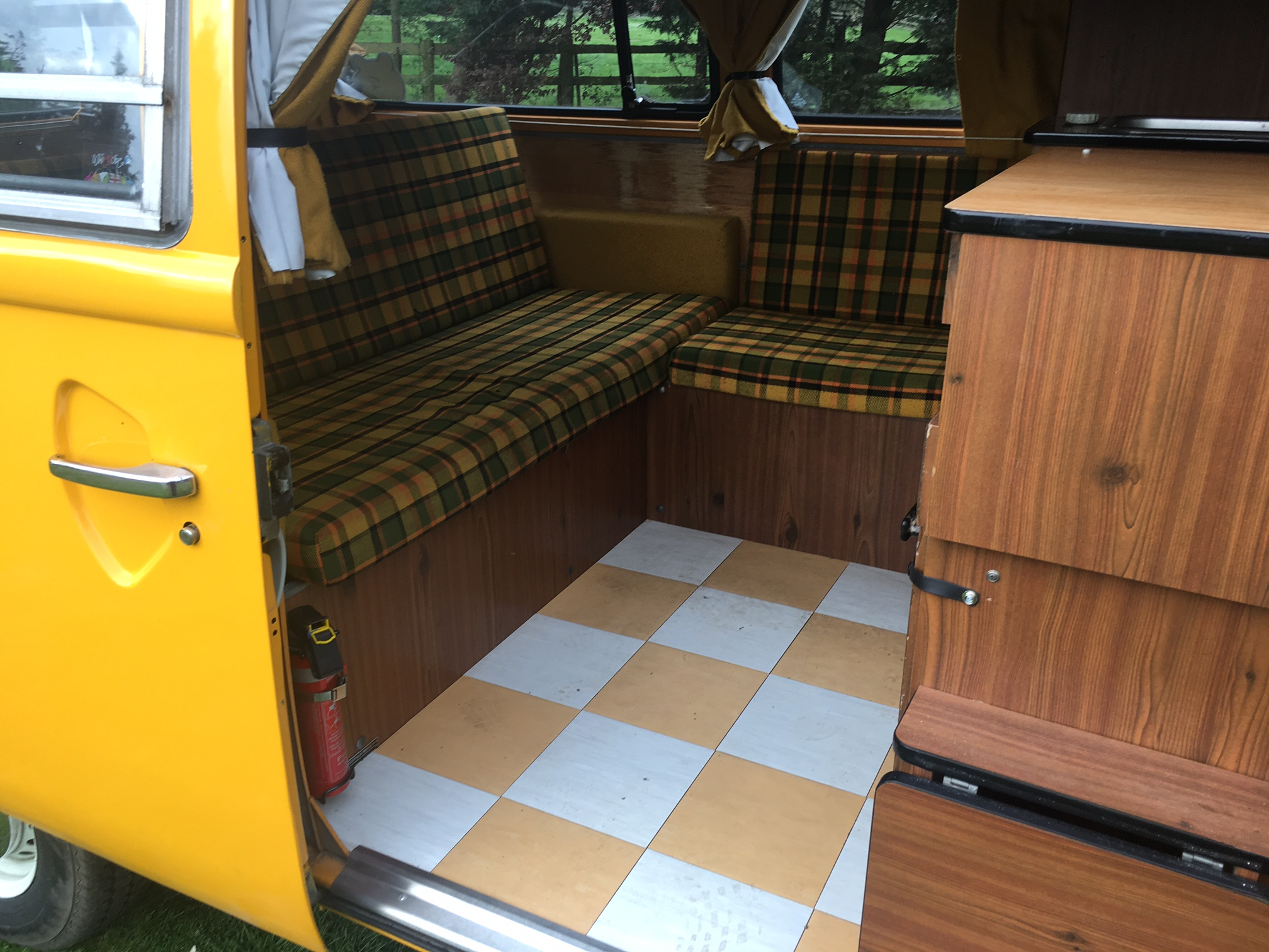 1978 westfalia 4 berth camper interior