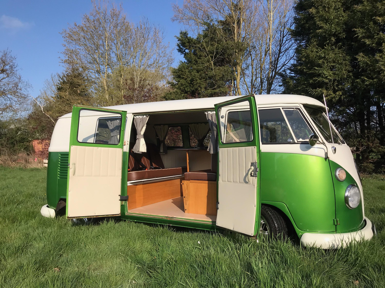split screen camper van for sale