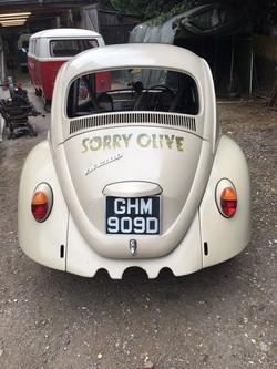 1966 Ex Drag Racer VW Beetle