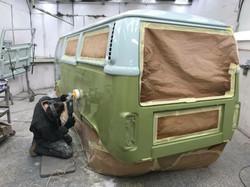 VW Camper Van Resto Project
