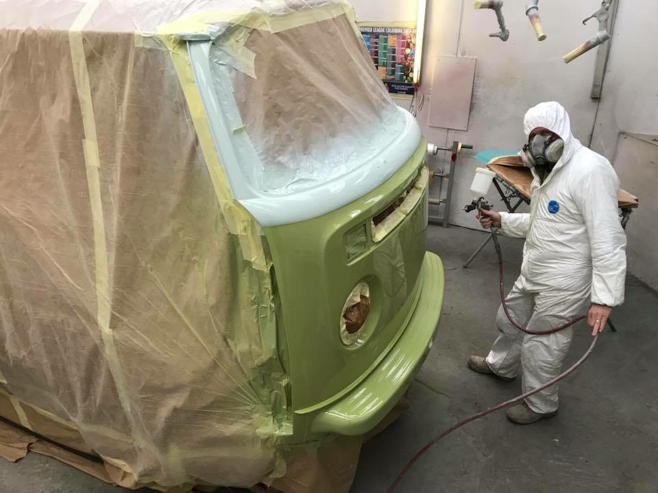 VW Restoration Camper Van