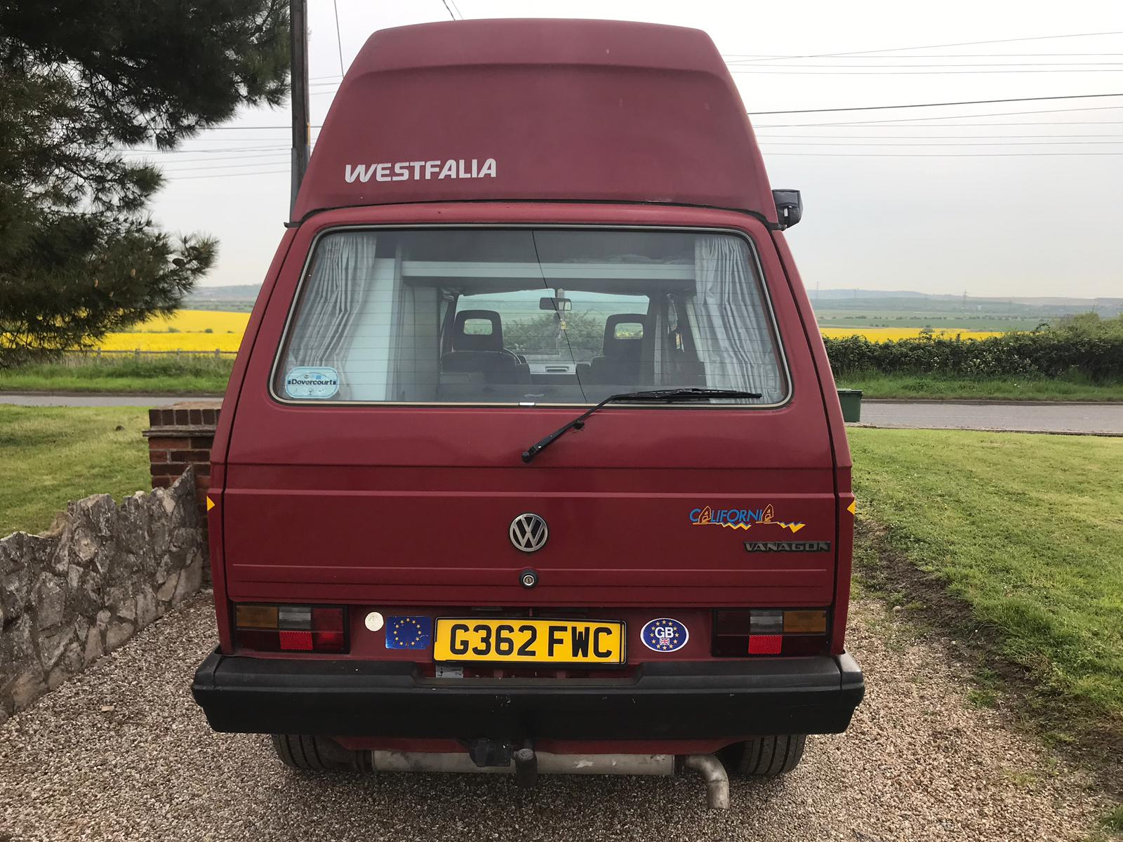 1990 VW T25 for sale