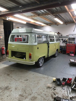 VW Camper Van Restoration