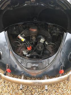1955 Oval Deluxe Beetle Engine