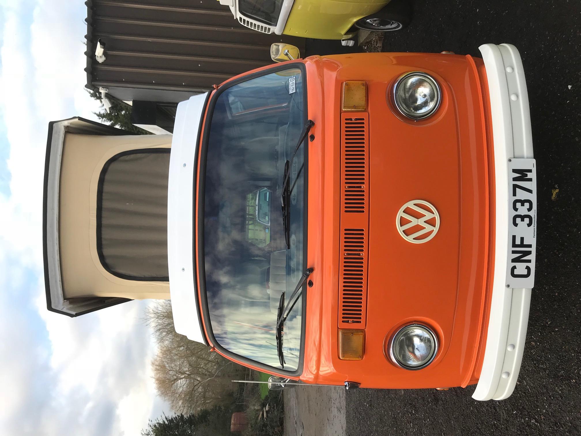 VW Westfalia Camper Van