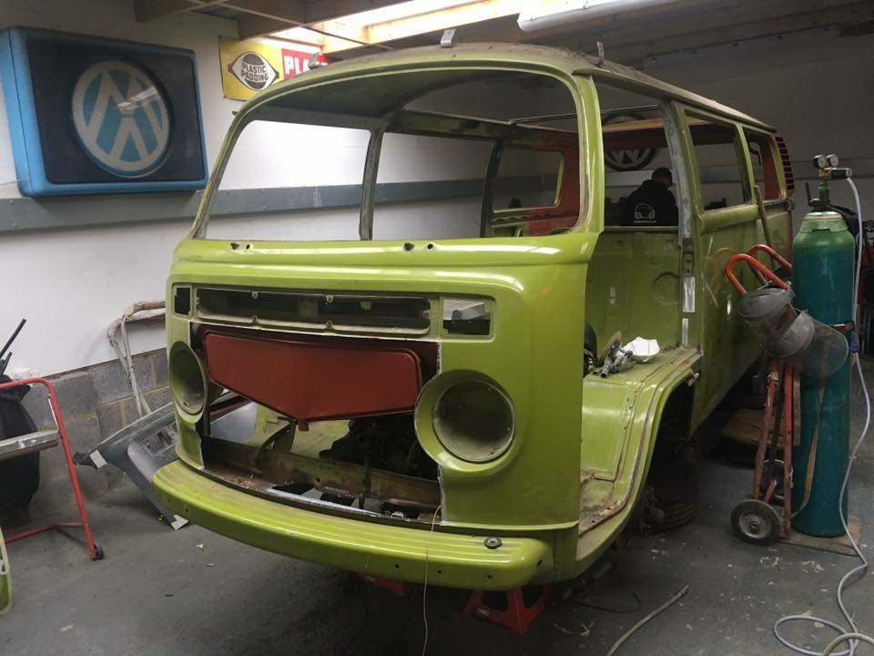Camper Van VW Restoration Project