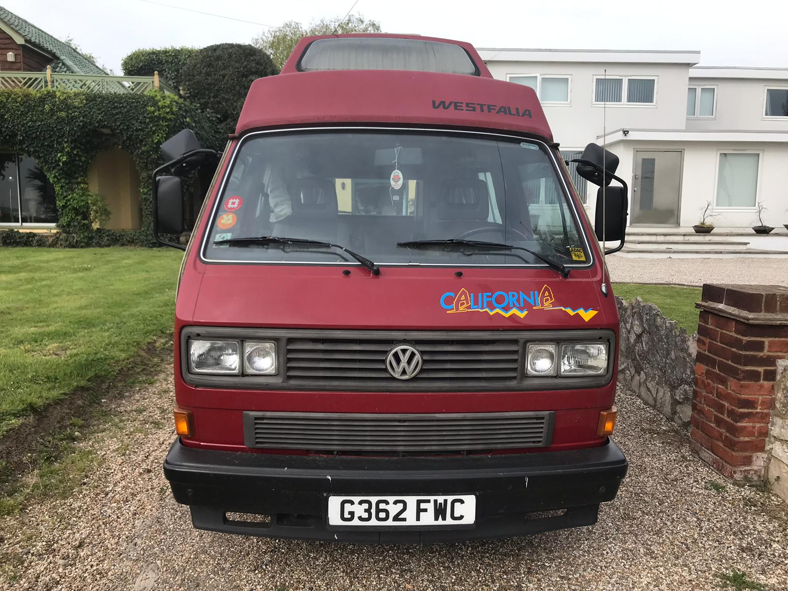 VW T25 camper van for sale