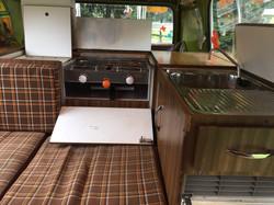VW Viking Camper Van Interior