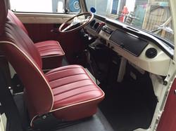 VW Westfalia Camper Van Cab
