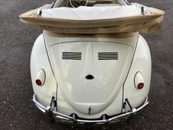 white volkswagen beetle