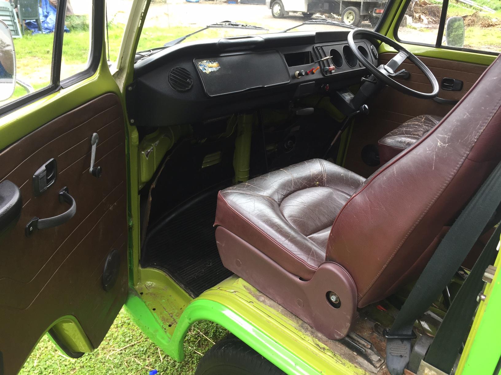 VW Viking Camper Van Cab