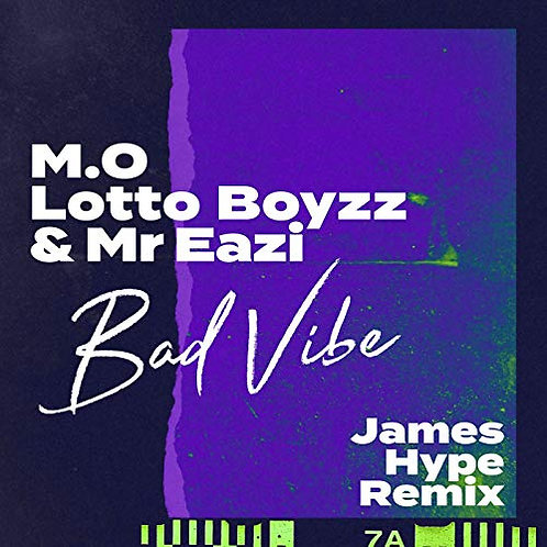 Bad Vibe - James Hype Remix - Producer Sample Pack