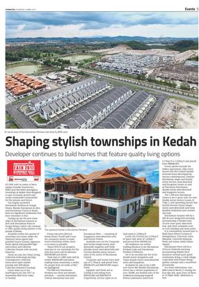 Shaping stylish townships in Kedah