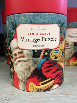 Vintage Holiday Puzzle